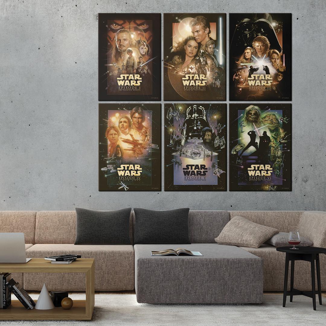 Star Wars Special Edition Triptych by Drew
