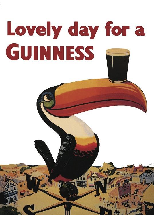 vintage poster beer