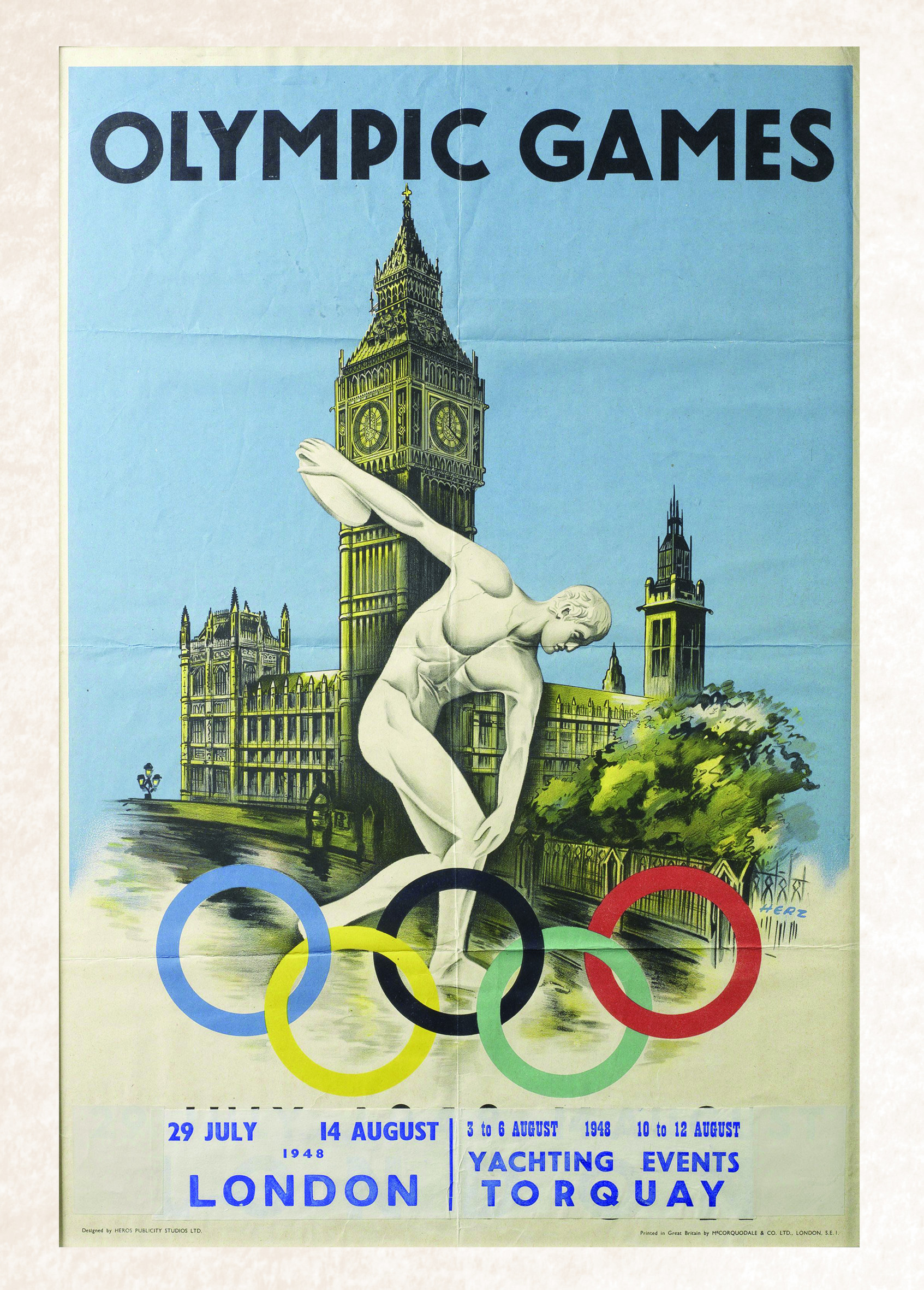 vintage poster olympic games