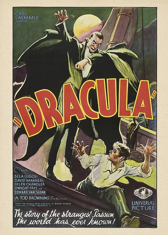 vintage poster dracula