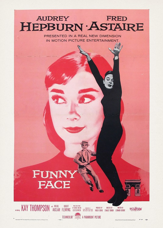 vintage poster movie audrey hepburn
