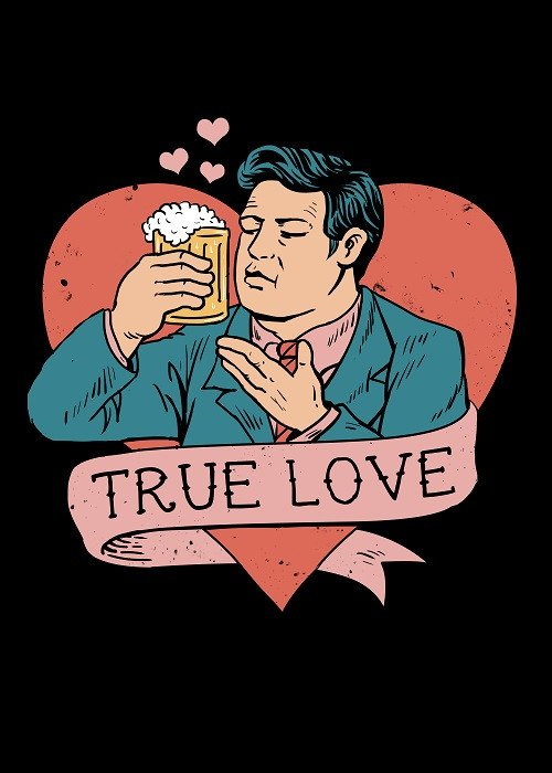 love beer poster