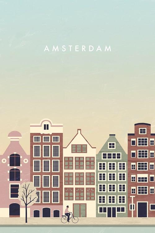 minimalist travel poster