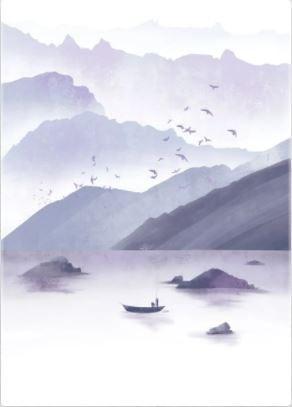 Purple calm