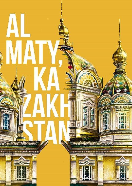almaty poster