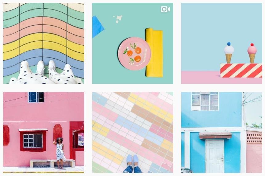 creativekipi colorful instagram account