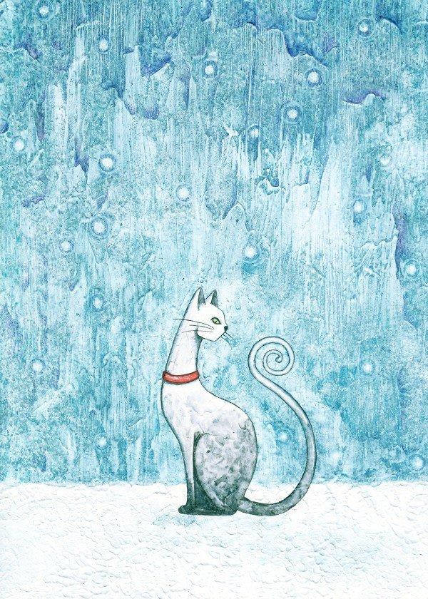 winter-time-season-snow-art-design-illustration-cat