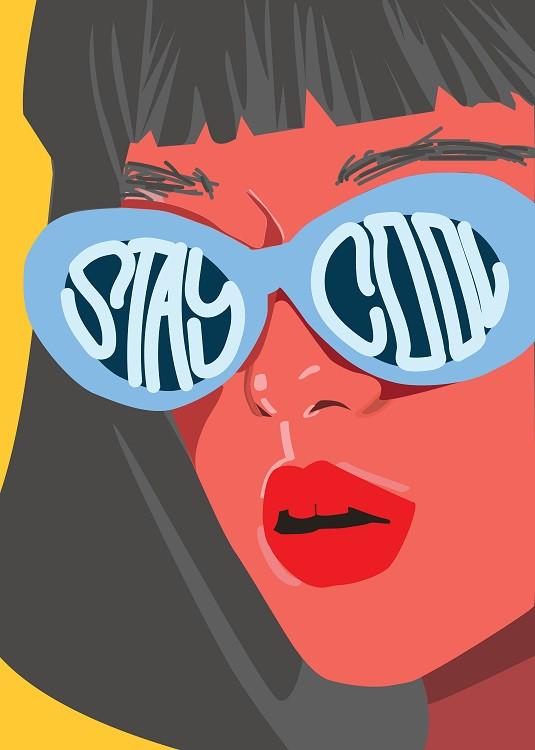 stay cool illustration