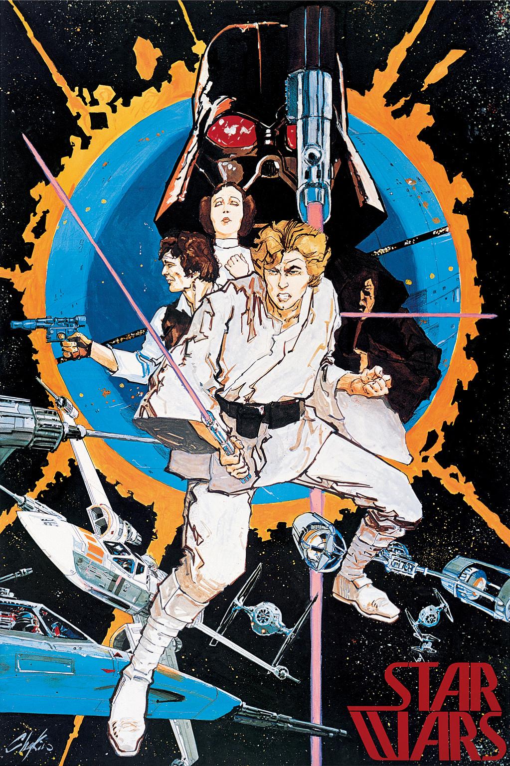 Howard Chaykin star wars poster