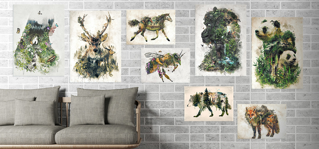 surreal animals collection