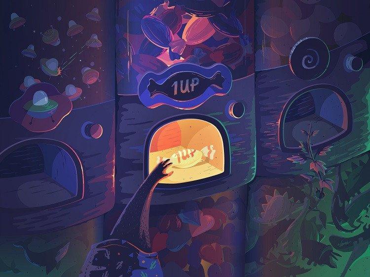 candy illustration