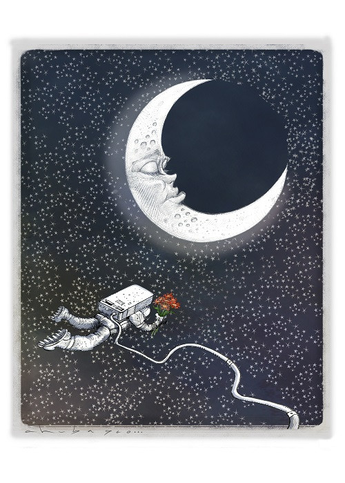 moon illustation