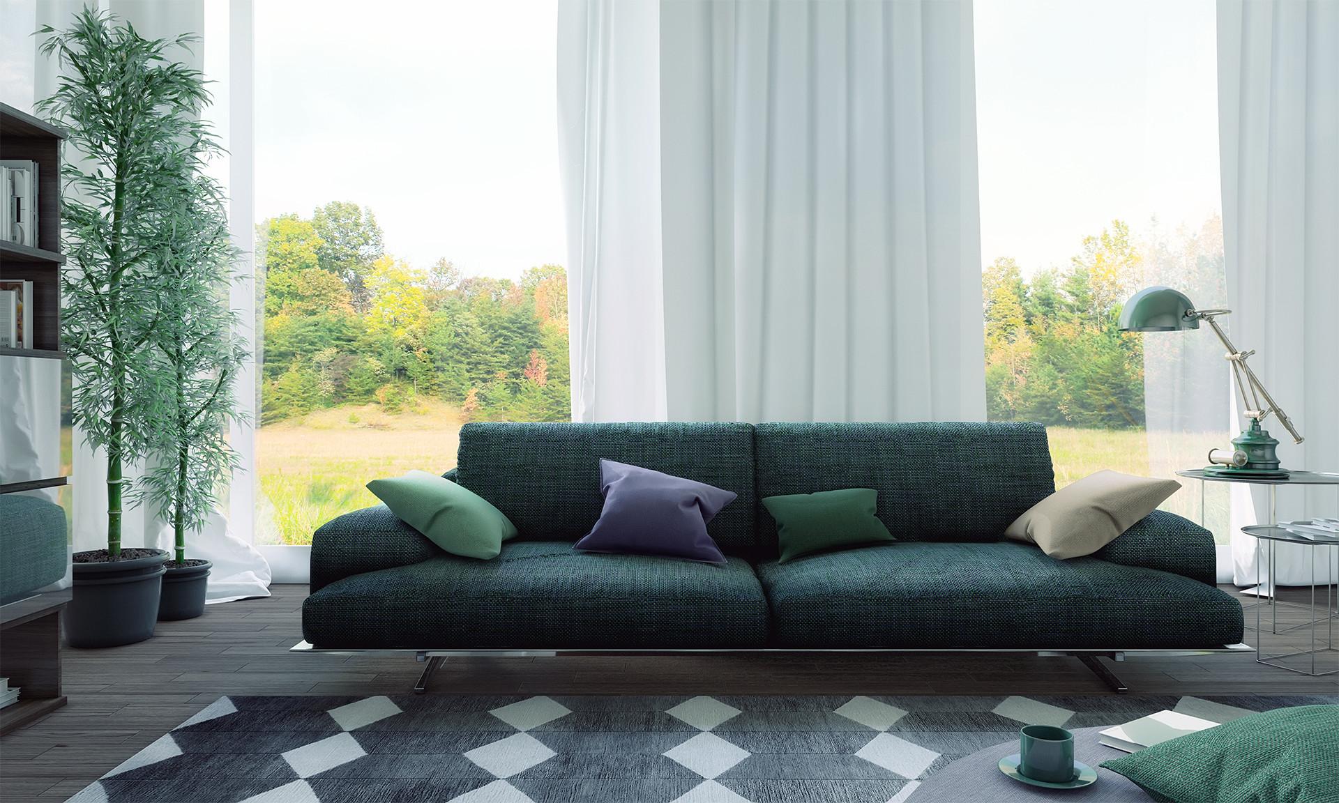 color-palette-green-interior-design-living-room
