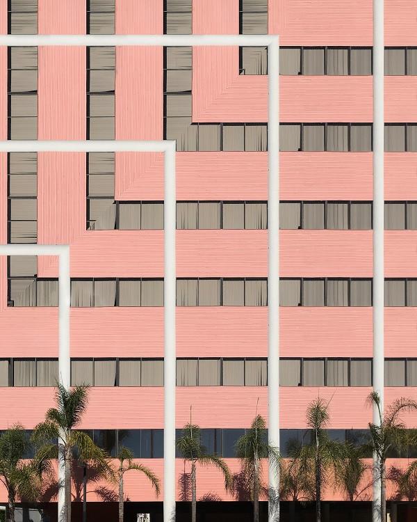 eric morris pink building