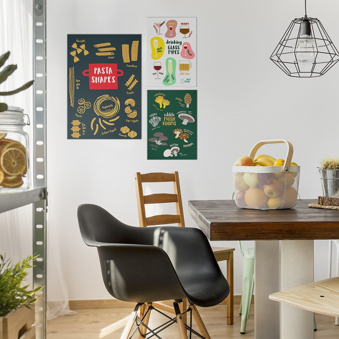 food inspired metal posters for your kitchen displate