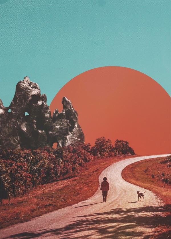 fran-rodriguez-surreal-art-design-road-boy-dog