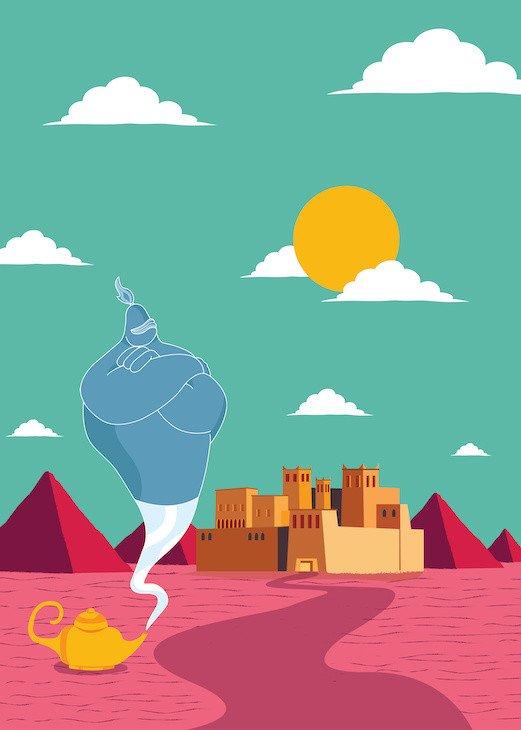 genie in morocco