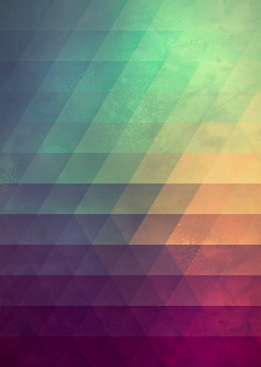 gradient on Displate