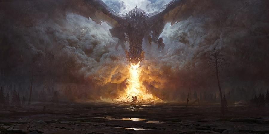 dragon by grzegorz rutkowski