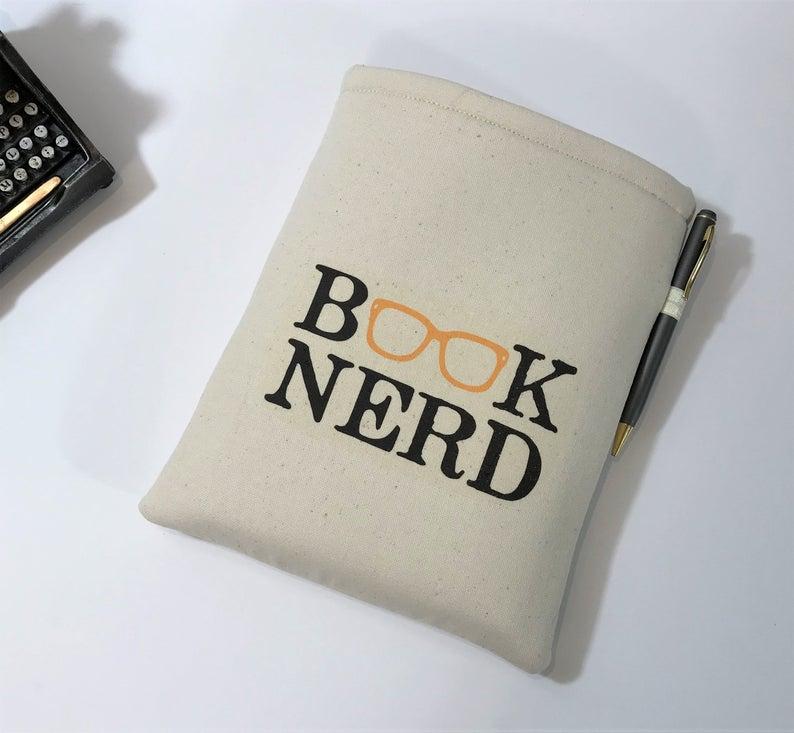 White book sleeve