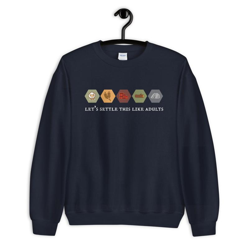 Settlers of Catan sweatshirt