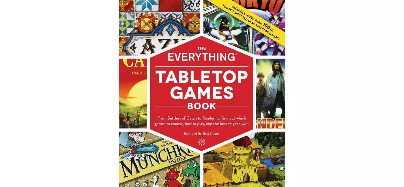 The Everything Tabletop Games Book book cover