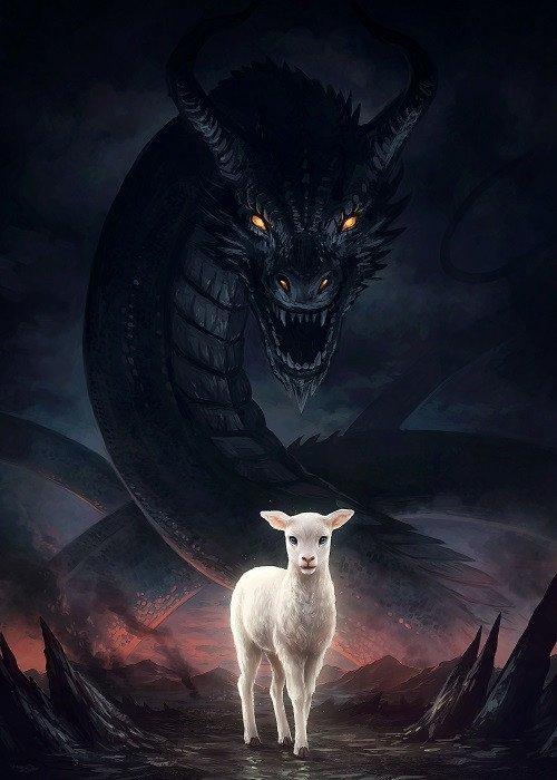 dragon and lamb