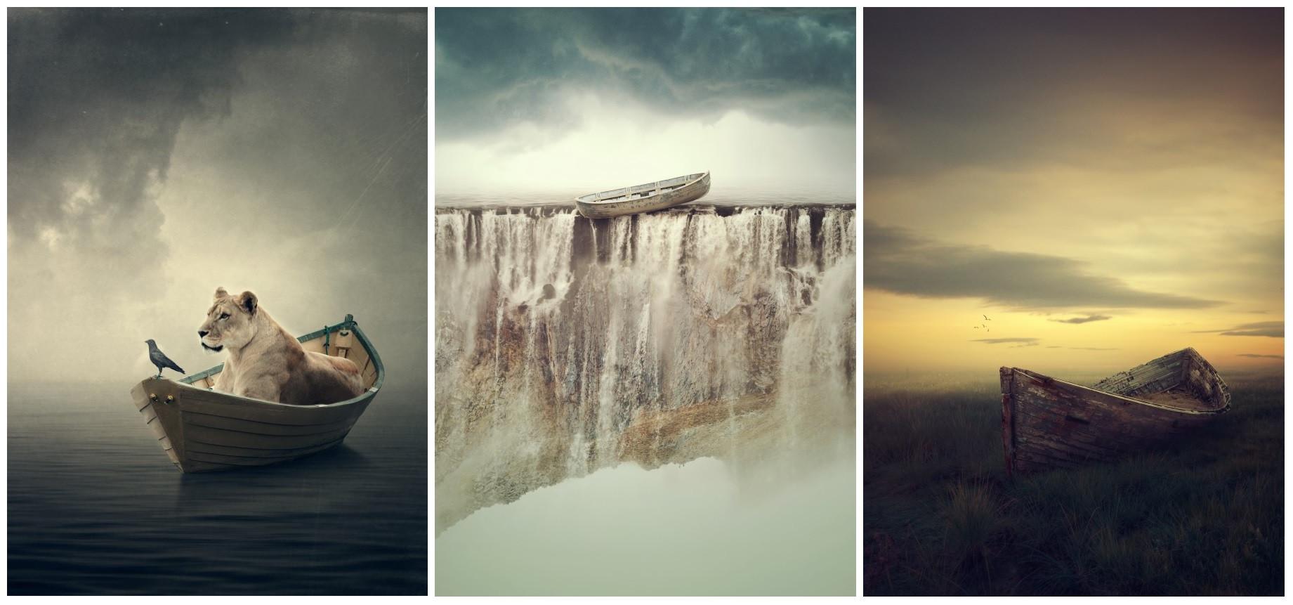 lion-boat-dream-like-photo-manipulations-by-albulena-panduri