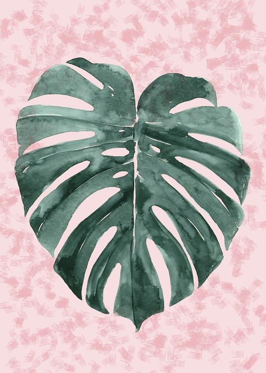minimal poster botanical