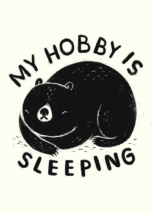 louis ros hobby is sleeping