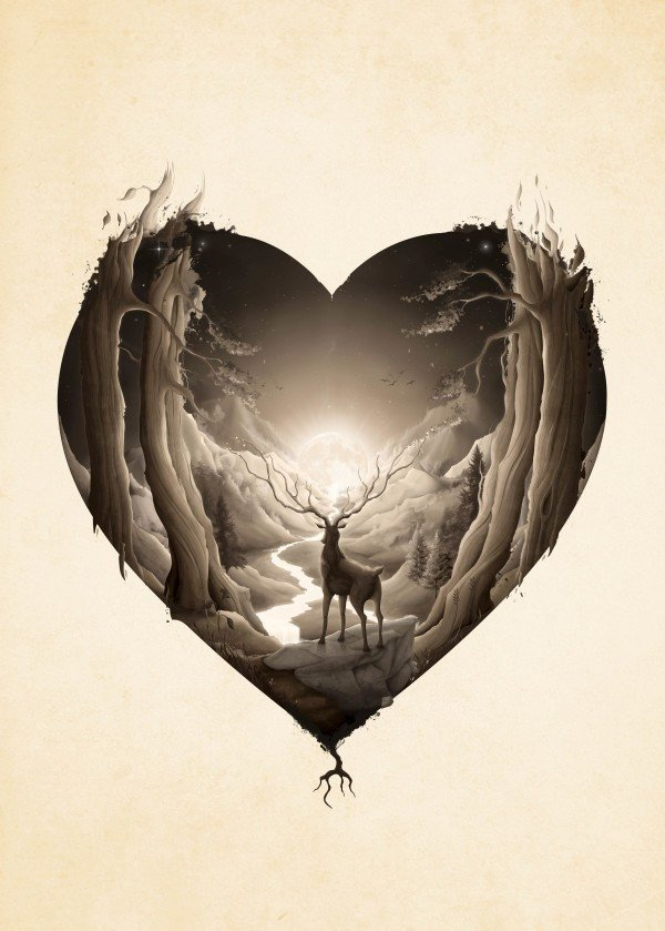 love-art-for-valentines-day-heart-nature-animal