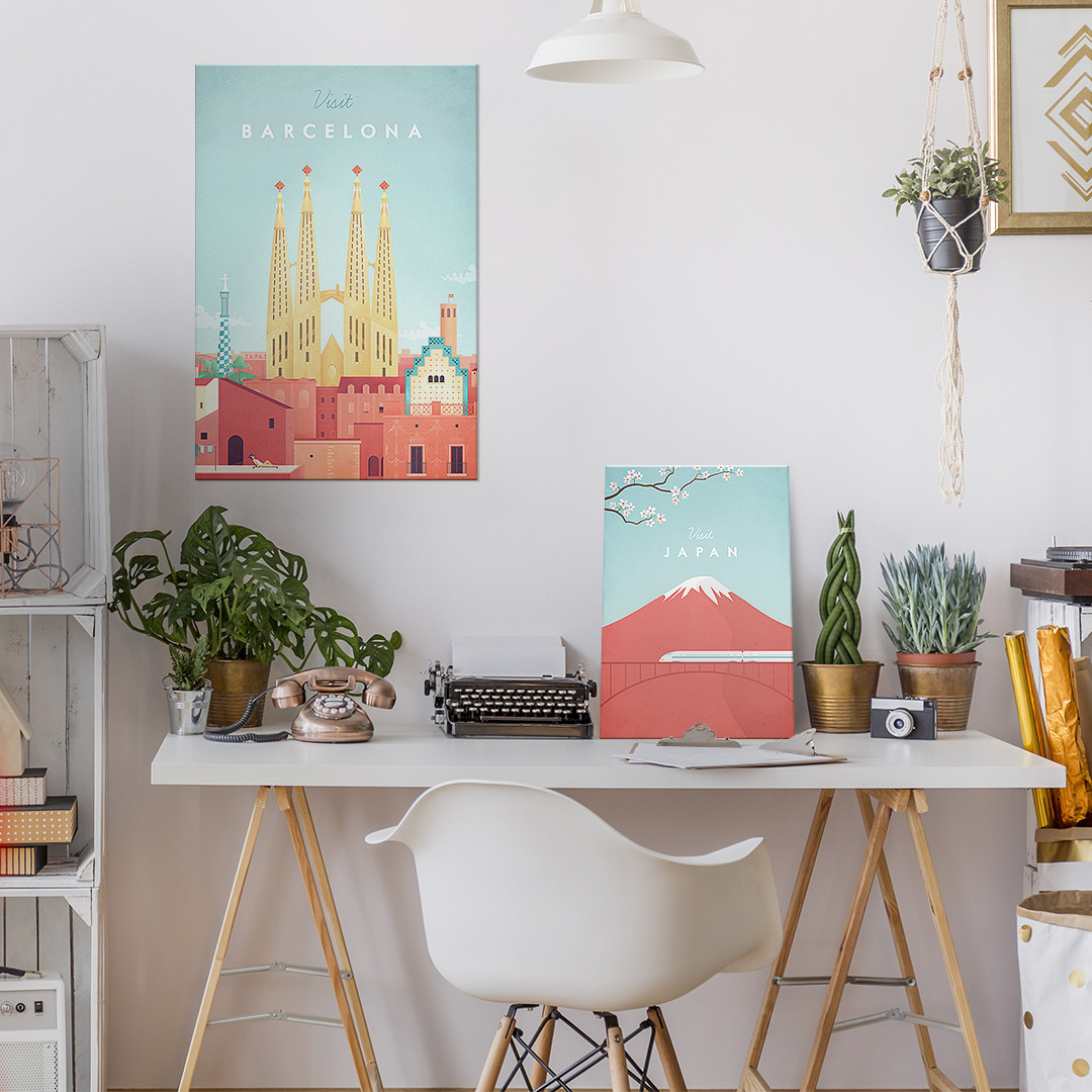minimalist travel posters europe cities displate