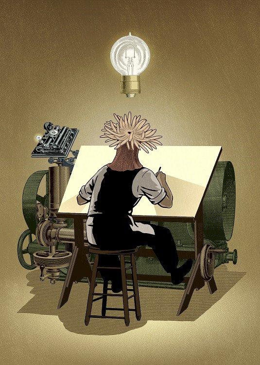 working illustration