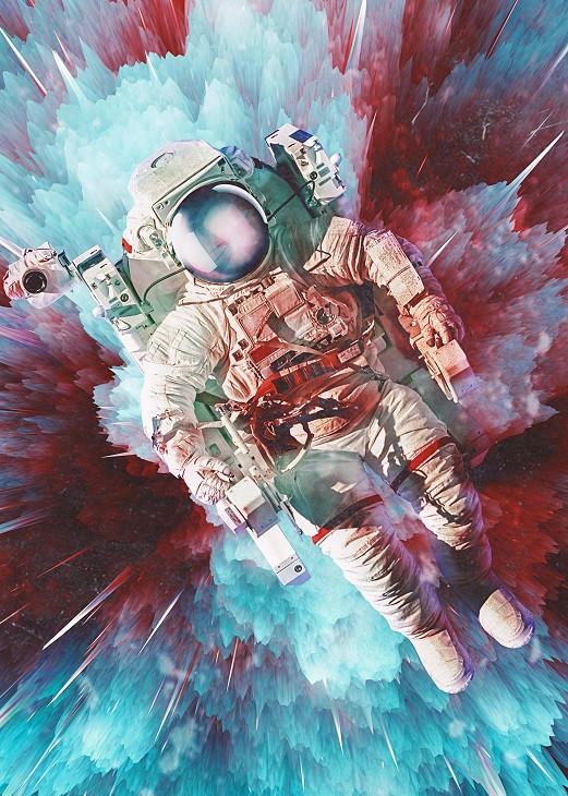 seam less cosmonaut