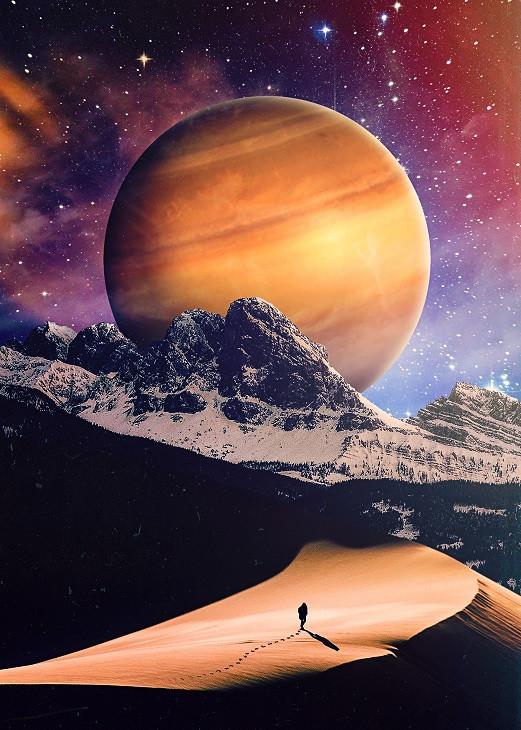 seam less planet