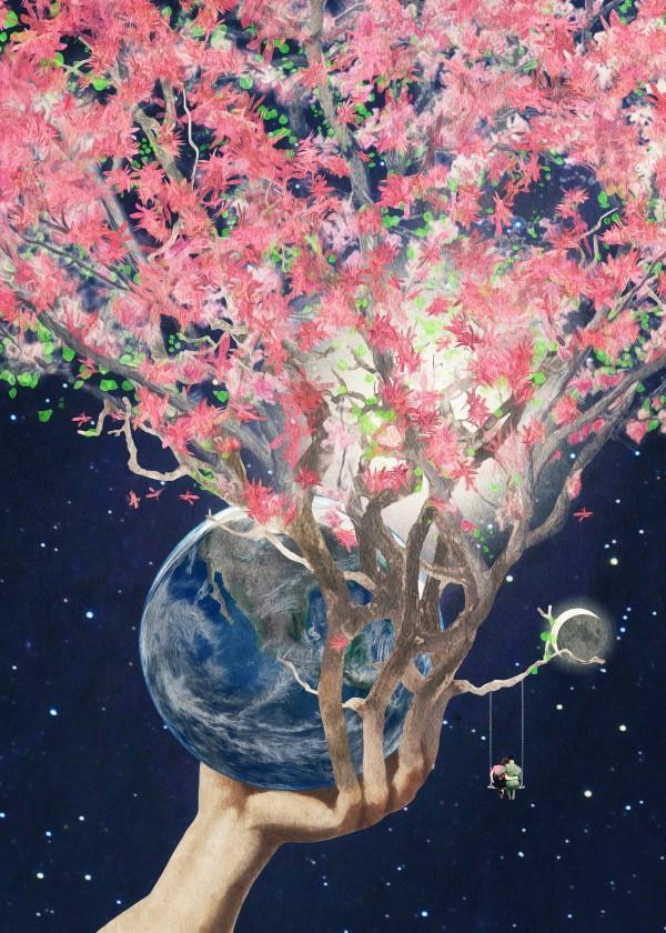 spring-design-earth-planet-plant-floral-art