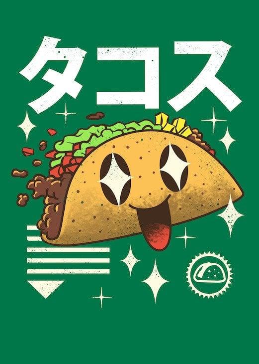 smiling tacos