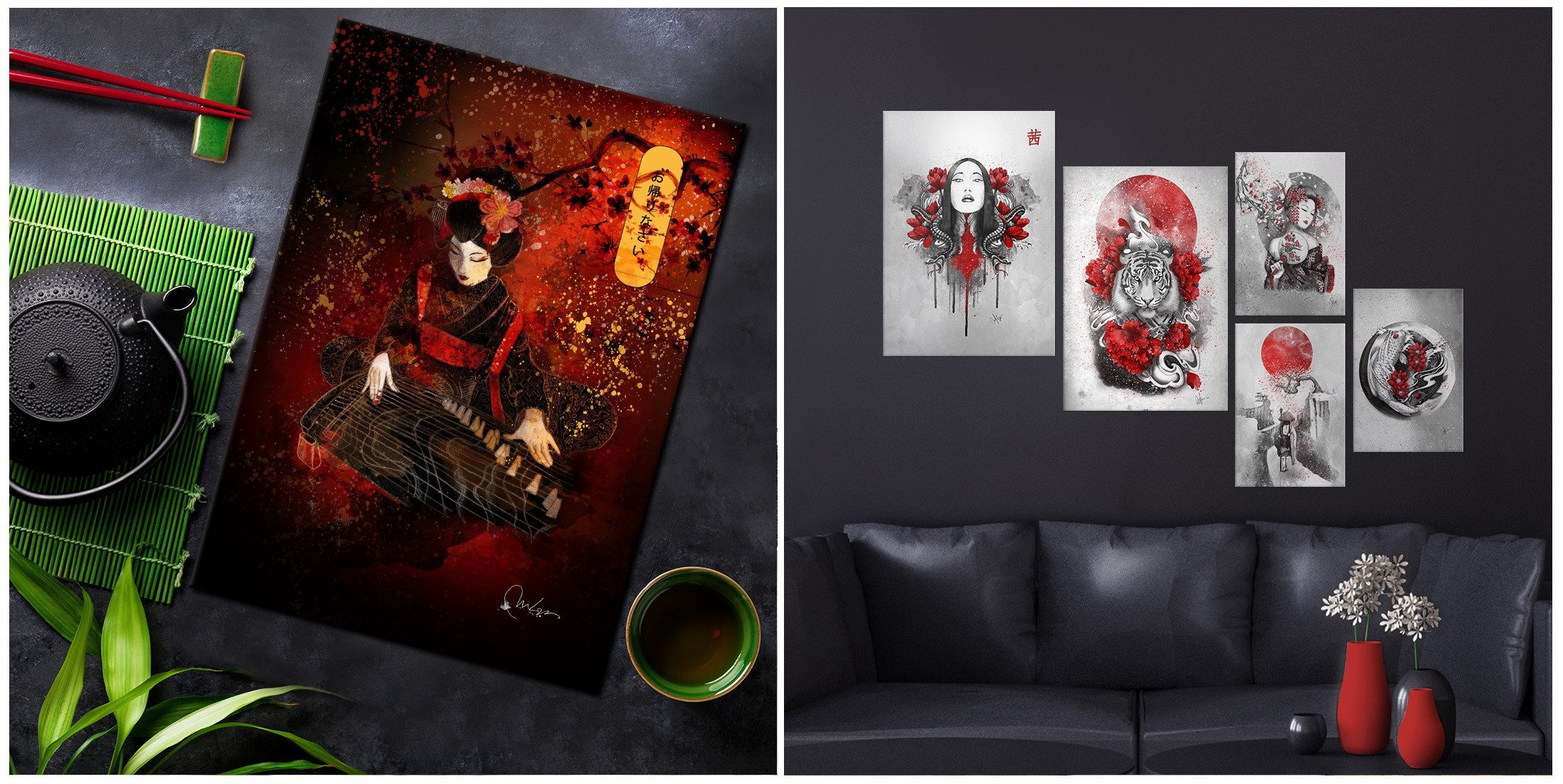 turning japanese metal posters for asia lovers