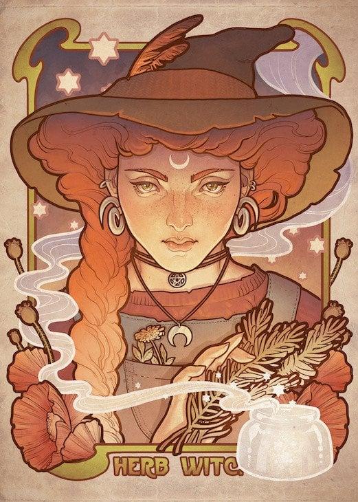 witch orange