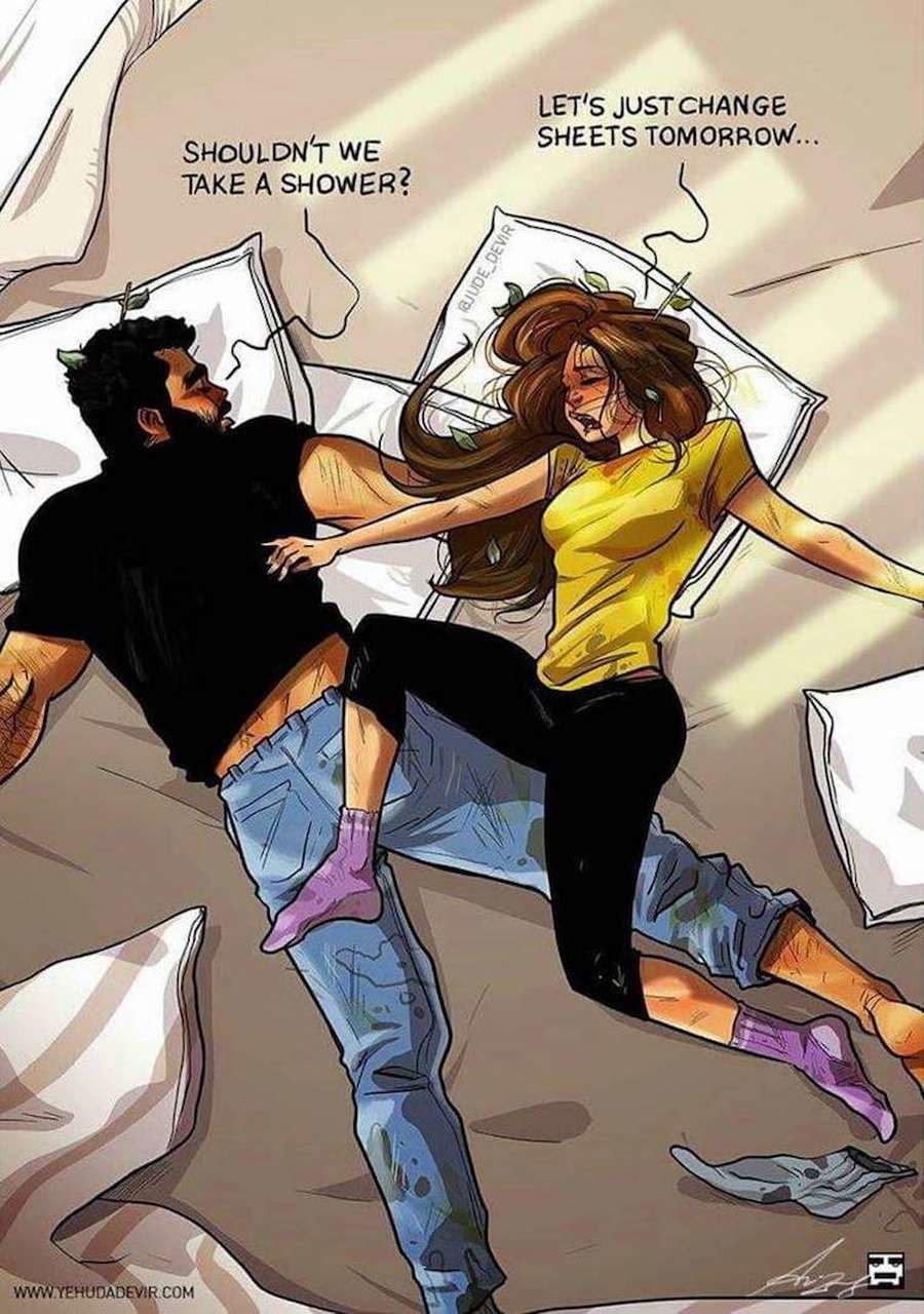 yehuda devir sleeping