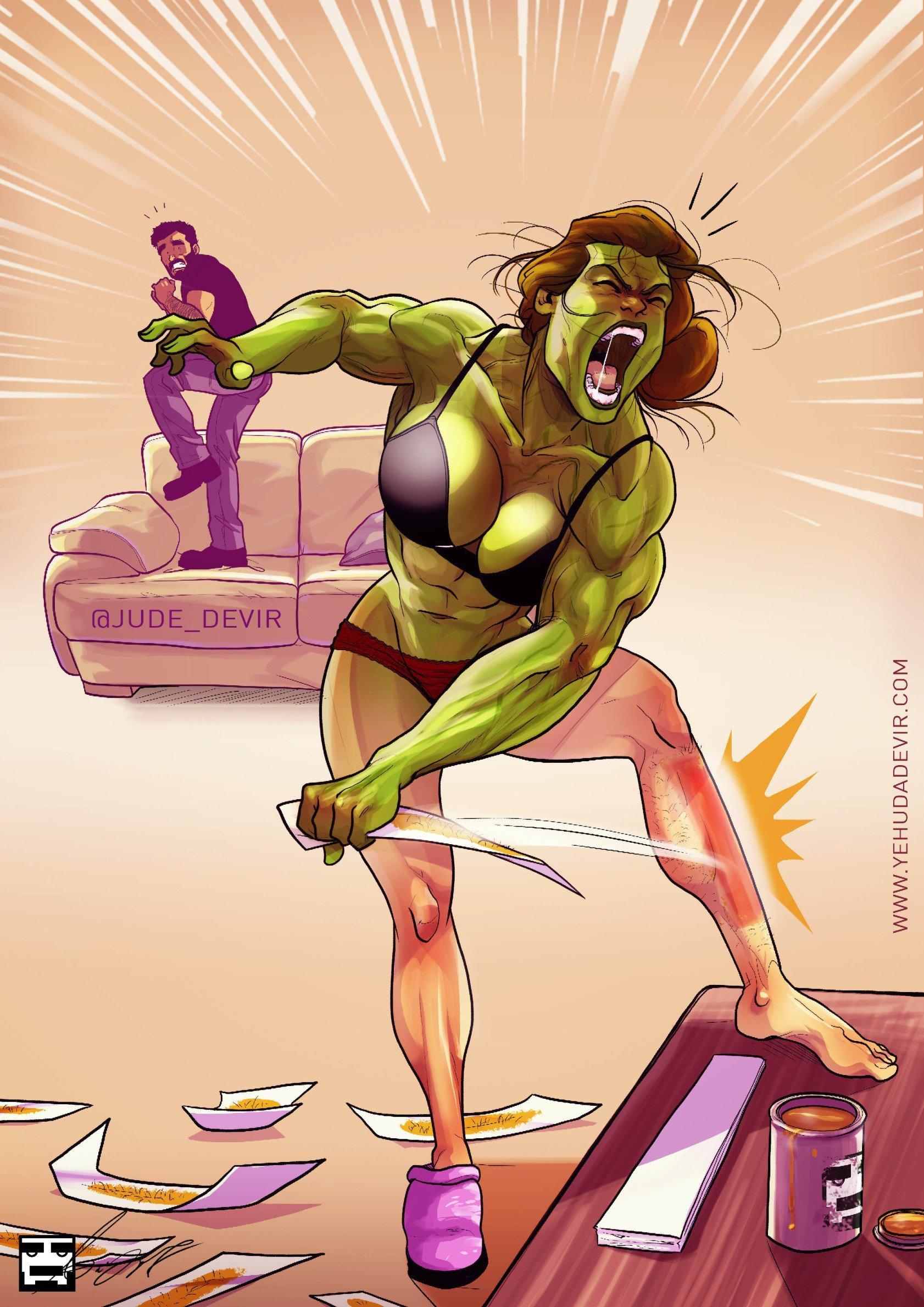 yehuda devir hulk