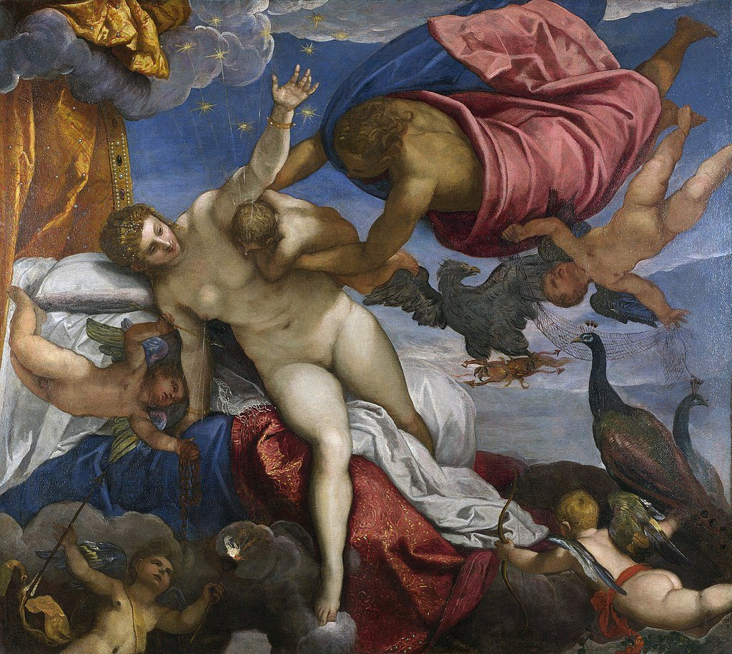 The Origin of Milky Way by Tintoretto