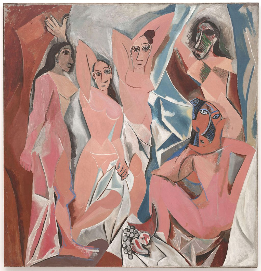 The Young Ladies of Avignon by Pablo Picasso