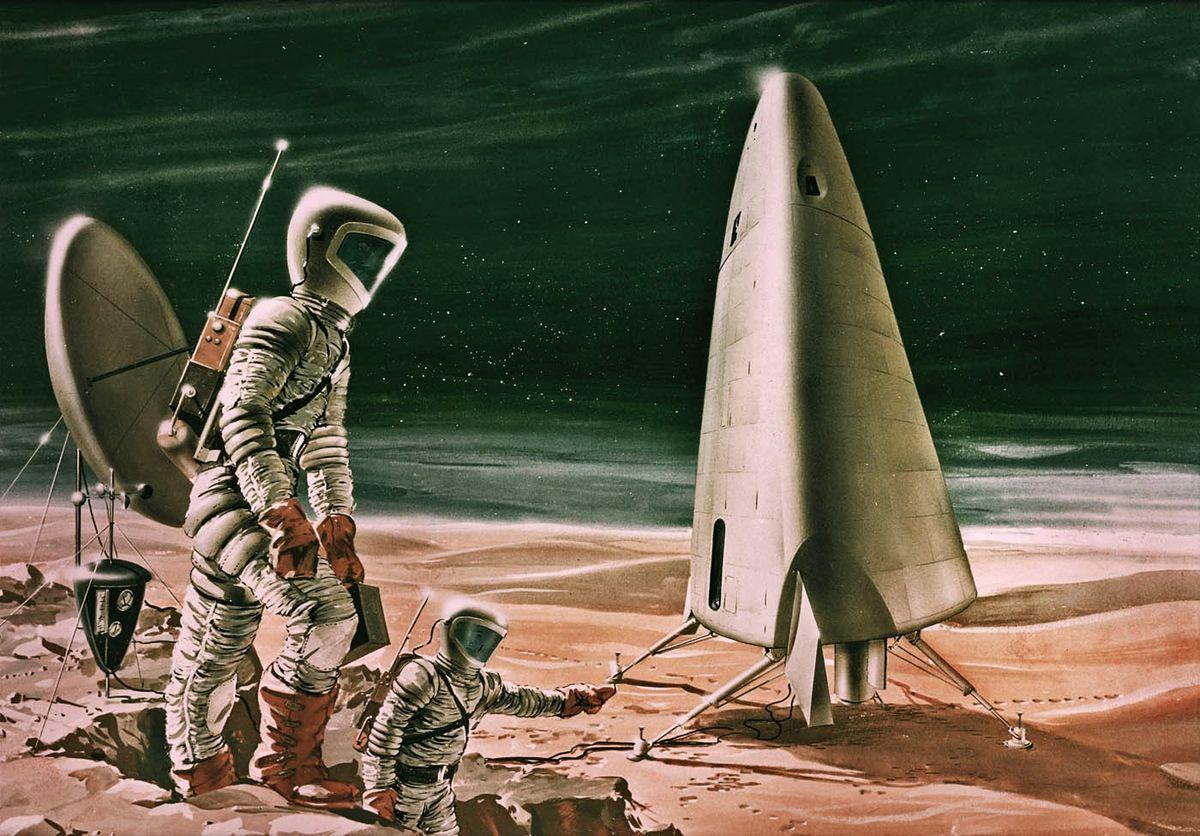1963 Mars Excursion Module