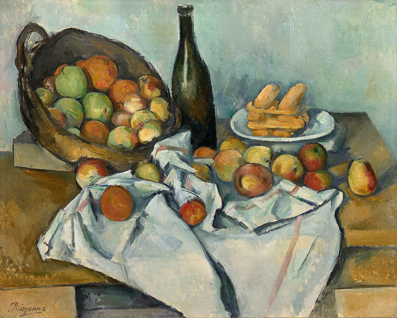 The Basket of Apples by Paul Cézanne