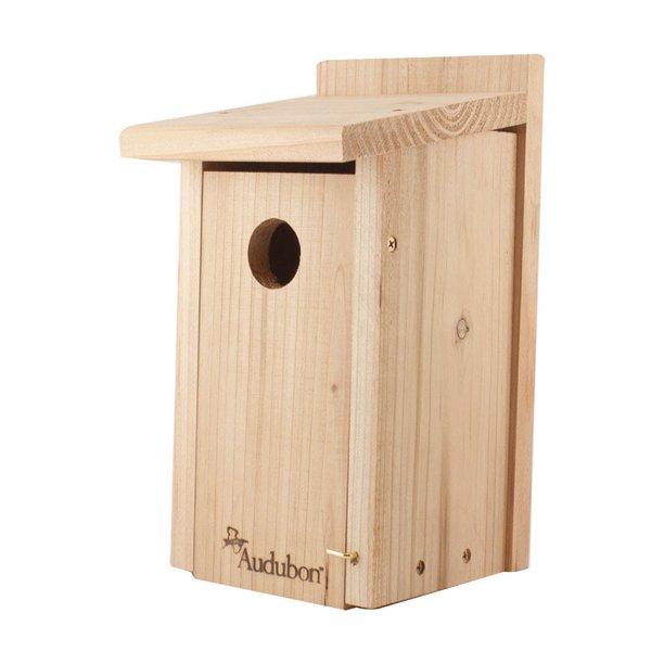 Audubon red cedar bird house