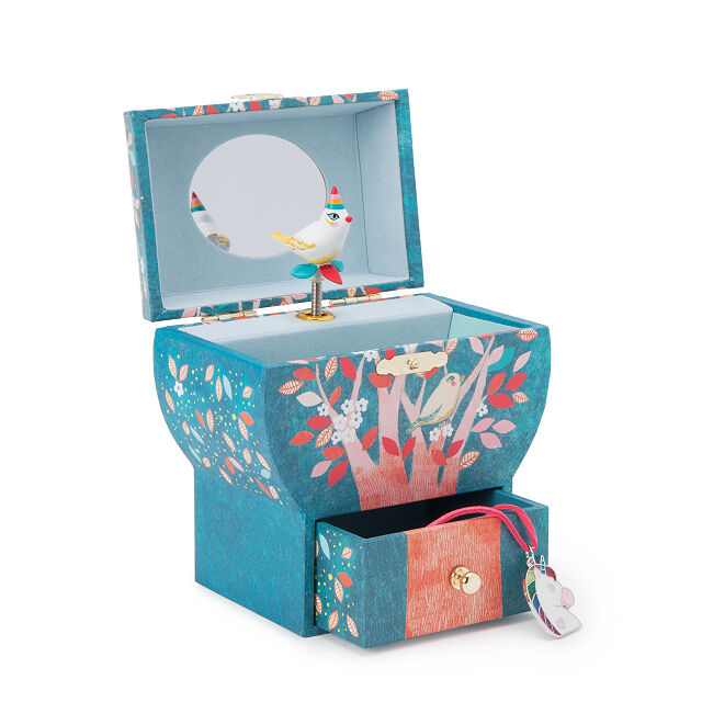 Singing nightingale treasure box