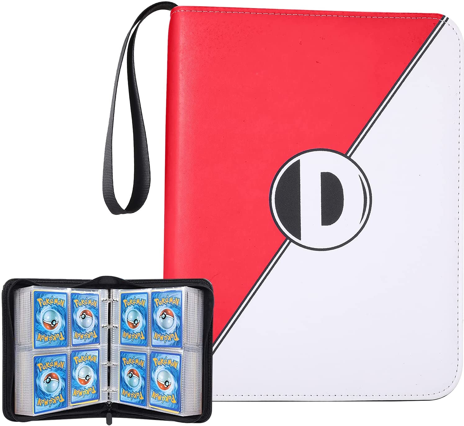 Binder for Pokémon cards with sleeves