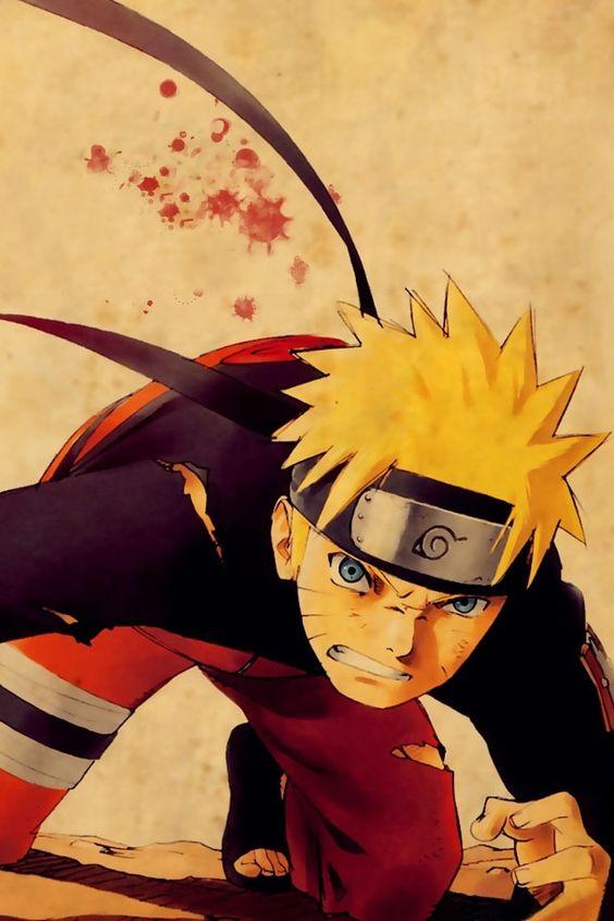 Naruto Uzumaki from Naruto anime