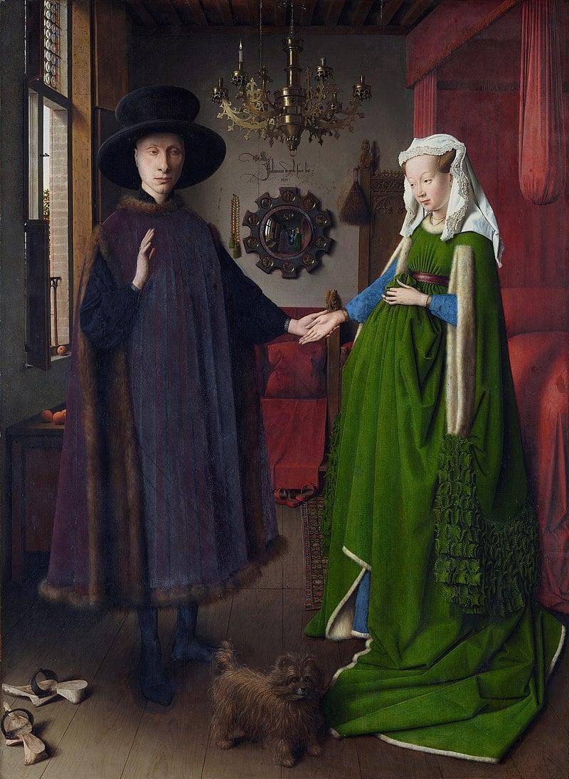The Arnolfini Wedding Portrait by Jan van Eyck